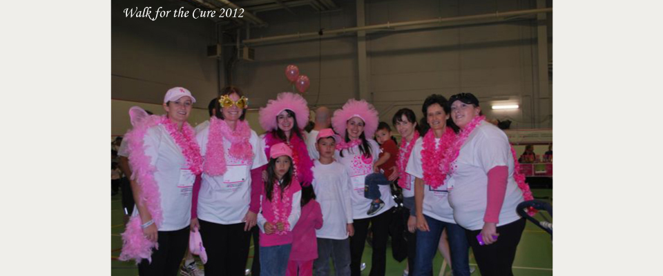 Walk for the Cure 2012