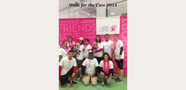 Walk for the Cure 2014